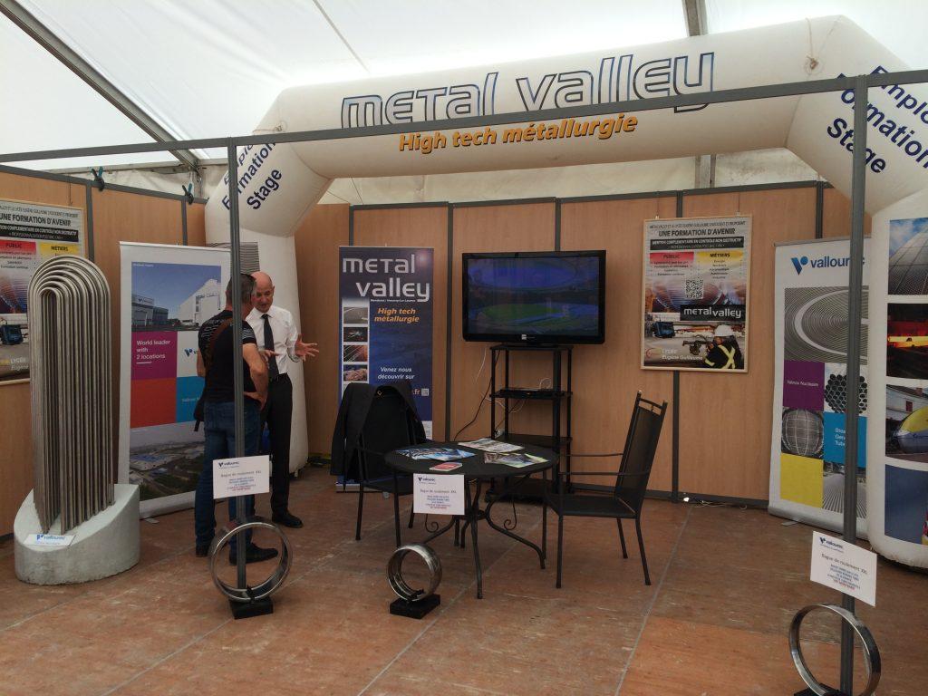 Stand Métal'Valley sur la Foire de Montbard 2016