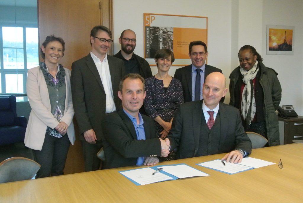 Signature de la convention entre le Lycée Professionnel de Montbard et la Métal'Valley