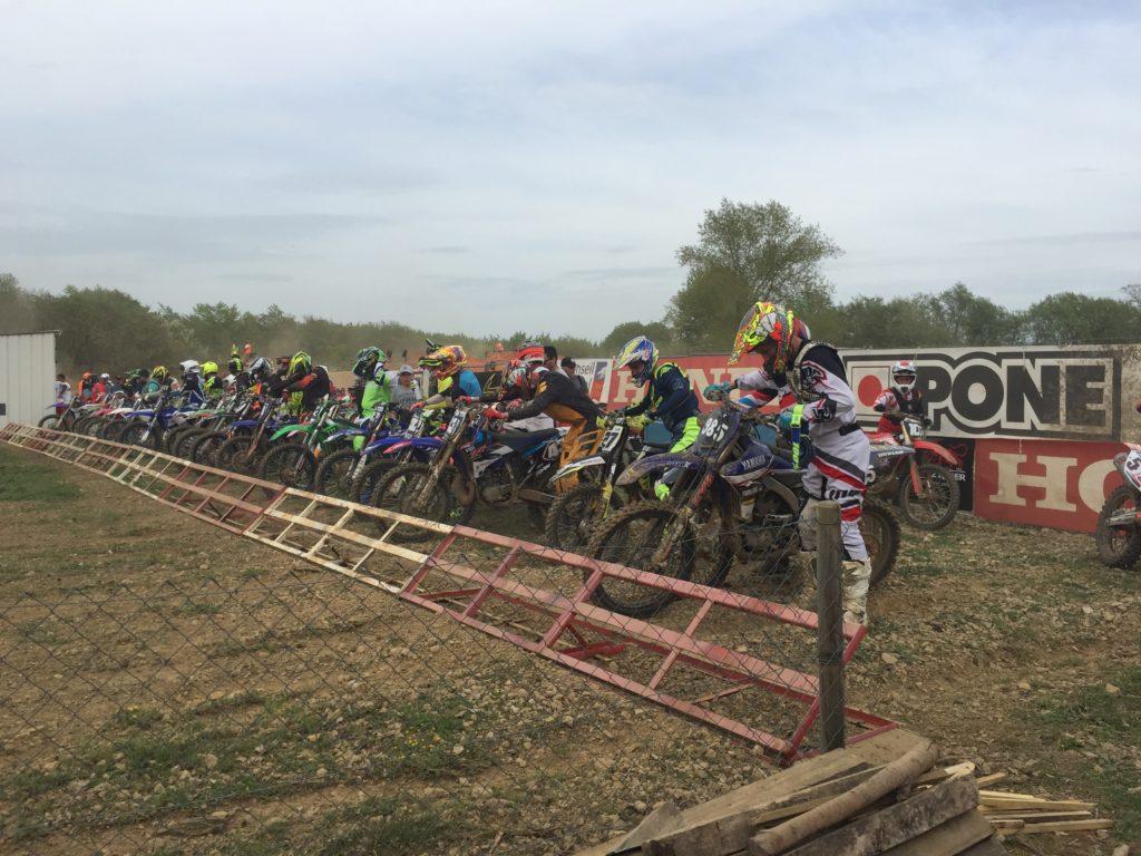 Départ Cours du Motocross du Télégraphe 28.04.18