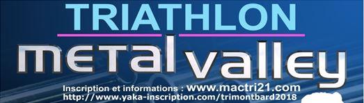 Triathlon Métal'Valley 2018