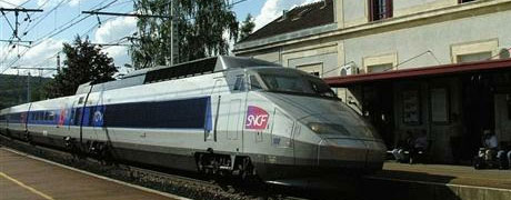 Défense arrêt TGV Montbard en 2011